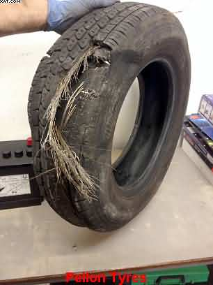 aging tyres