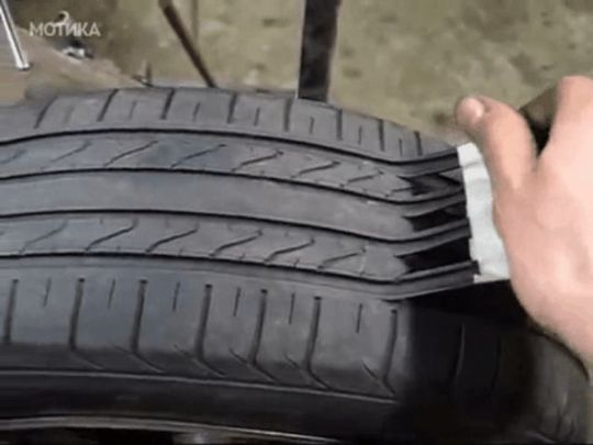 The Dangerous Practice Of Re Cutting Car Tyres For Resale