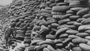 Waste Tyres Make Diesel Fuel