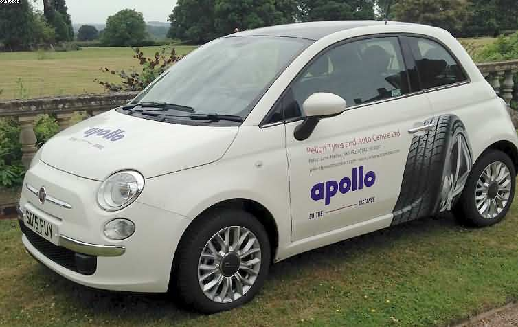 Apollo Tyres And Hankook Courtesy Car Offers