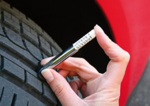 Tyre tread legal limit