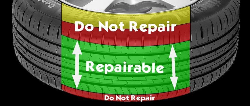 Tyre Repair Area