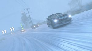 Winter Tyre-Blizzard Conditions