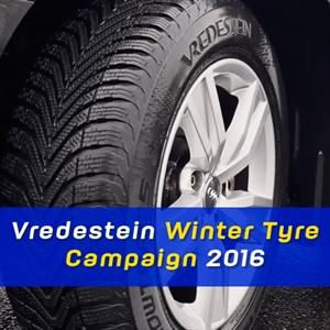 Vredestein Winter Campaign 2016